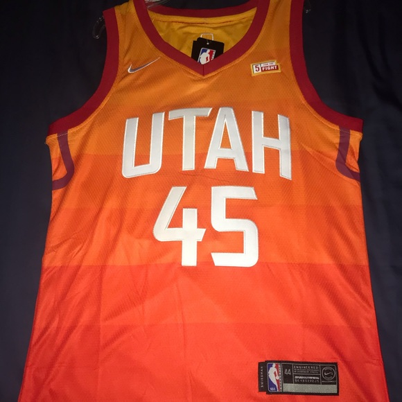 buy popular 32643 0f9c2 Utah Jazz Limited Edition City jersey NWT